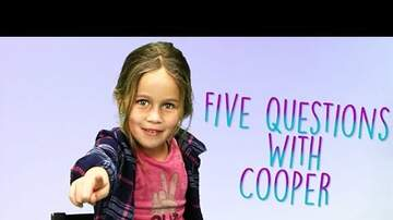 Elvis Duran - 5 Hard-Hitting Questions With Scotty B's 5-Year-Old Daughter Cooper
