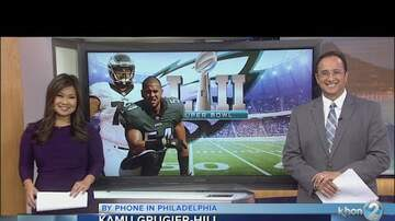 Kristy - Eagles linebacker Kamu Grugier-Hill talks SB LII