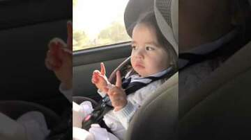None - Toddler Waiting for Beat to Drop in Uptown Funk