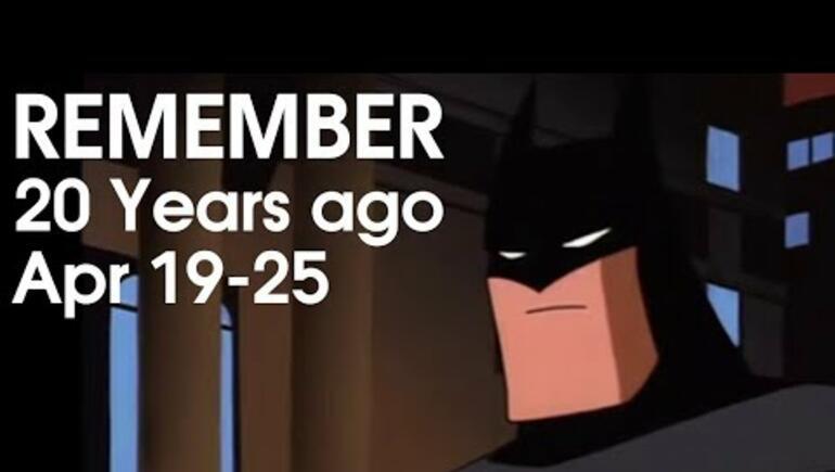 20 Years Ago This Week