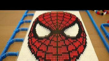 Dave Arlington - They Had Me At 'Spider-Man in 10,000 Dominoes'