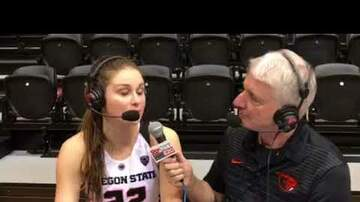 Oregon State Beavers - Kat Tudor coming of age for 17th ranked Beavers