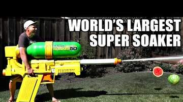 Simon Conway - NASA engineer unveils world's most powerful Super Soaker - VERY COOL VIDEO!