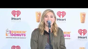 Dunkin' Donuts Iced Coffee Lounge - Olivia Holt On History, 13 Reasons Why, and Love Triangles