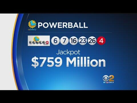 powerball winner last night