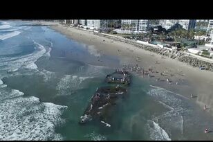 San Diego Hidden Treasure: 1930's Shipwreck in Coronado