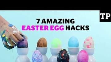 Intern Sami - Make Dyeing Easter Eggs Simpler & Less Messy