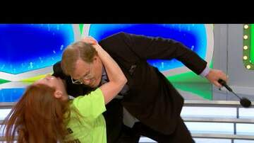 Kristy Knight - Drew Carey Tackled By Excited Contestant