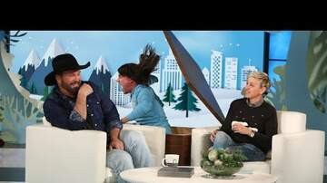 Sherri Marengo - Ellen tries to scare Garth Brooks... #fail