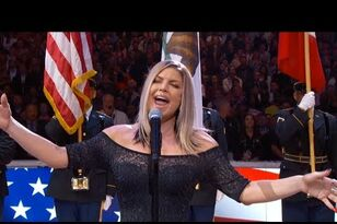 Fergie National Anthem effort goes off the rails...
