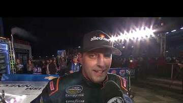 NASCAR - Johnny Sauter earns a playoff win at Texas