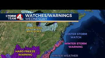 Storm Watch NYC - What's This Bomb Cyclone Winter Storm We're Getting?