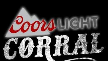 Coors Light Corral & Coors Light Untapped Event - Matt Gary