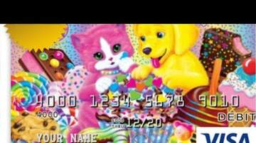 Intern Sami - Lisa Frank Now Has A Debit Card!