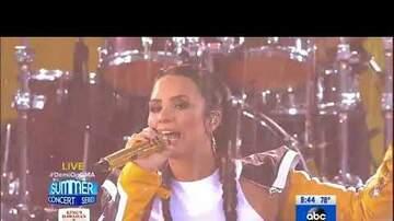 Angel - Demi Lovato on GMA!