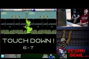 Tecmo Super Bowl Championships XIII in Madison