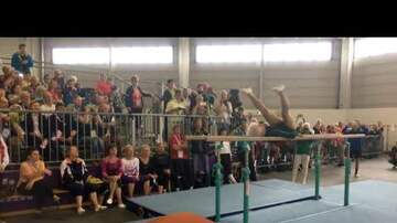 Jaylah - [INCREDIBLE] 91-year-old gymnast completes impressive routine!
