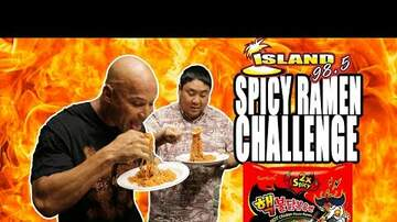 Wake Up Crew - SPICY RAMEN CHALLENGE: VIC & KREY-Z