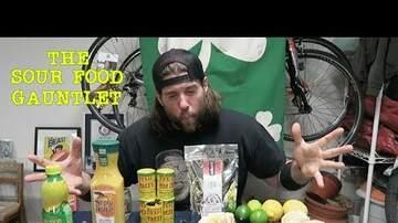 Ballard - LA Beast Does The Sour Food Gauntlet Challenge
