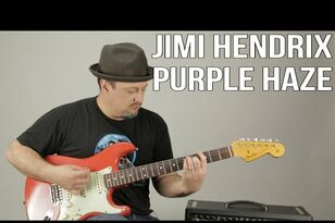 "How To Play ""Purple Haze"" By Jimi Hendrix On Guitar Tutorial"