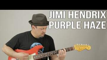 How To Play - How To Play Purple Haze By Jimi Hendrix On Guitar Tutorial