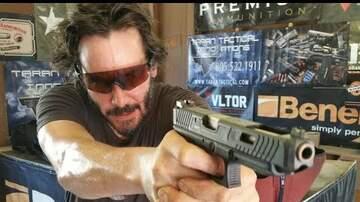 Tony Brooks - [ WATCH IT ] Keanu Reeves Shows off His Impressive Marksman Skills