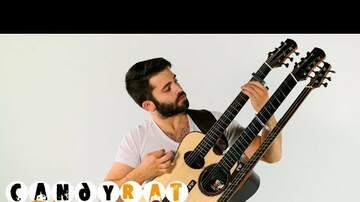 Doug - Guy plays 'Feel Good Inc' on mutant guitar hybrid
