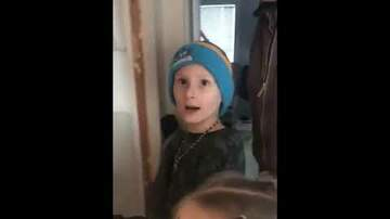 Captain Tony - WATCH: Kids Reunited With Their Missing Cat