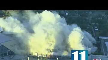 WKKR Web - Georgia Dome demolished earlier this morning