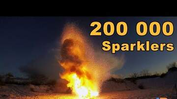 Trending Stories - 200,000 Sparklers Burning At The Same Time