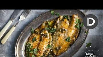 Great Eats - 5 Minute Best Fish Dinner!