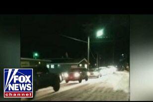 Video Shows 8.0 Earthquake Hitting Alaska