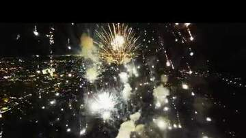 Some Guy Named Tias - Firework explosion from the Drone