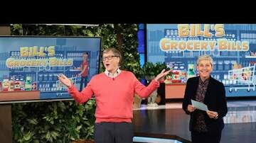 Dave Roberts - Bill Gates Plays Bill's Grocery Bills on Ellen