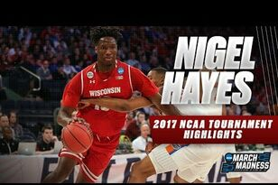 UW MBB: NCAA Tournament Highlights: Nigel Hayes