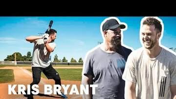 Seg Dennison - Cubs star Kris Bryant gets pranked by Greg Maddux