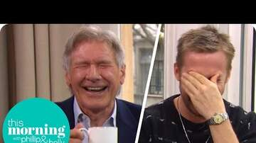 Kristy Knight - Harrison Ford & Ryan Gosling Can't Stop Laughing!