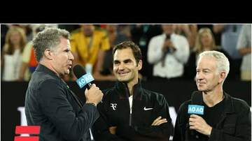 Boomer | @boomeradio - WATCH: 'Anchorman' Crashes Australian Open