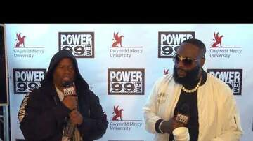Philadelphia Powerhouse - Cosmic Kev and Rick Ross tear up the 215 backstage at Powerhouse