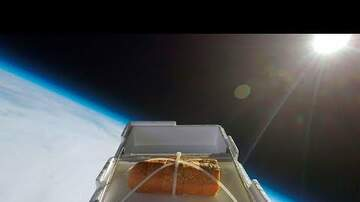 Chad Heritage - garlic bread sent to the edge of space and eaten.