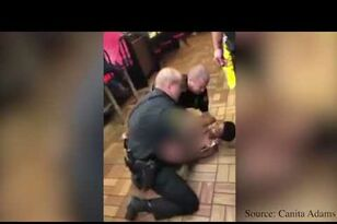 Police Expose Black Woman's Breast During Arrest At Waffle House!
