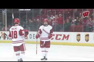 Audio + Reaction: MH: Wisconsin 4, Mercyhurst 2