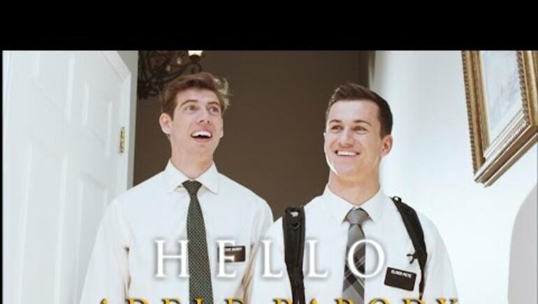 Mormons cover Adele's 'Hello'