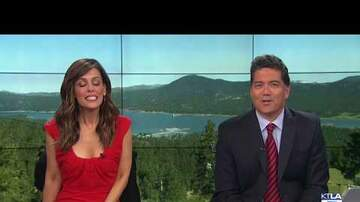 CRob - Reporter Gets Vomited On On Live TV