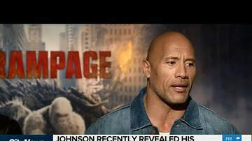 image for Dwayne 'The Rock' Johnson opens up on depression!