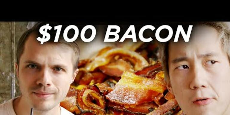 VIRAL: $2 Bacon Vs. $100 Bacon - Which Is Better?