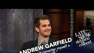 Cyndi - Andrew Garfield Doesn't Think of Himself as a Movie Star