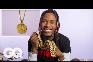 Fetty Wap Shows Off His Insane Jewelry Collection
