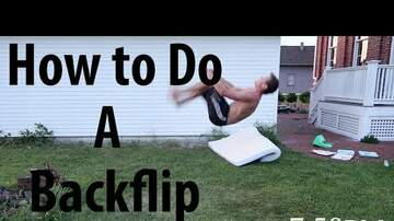 The Proper Gentlemen of Sports - Dude Teaches Himself How to Back Flip in One Hour