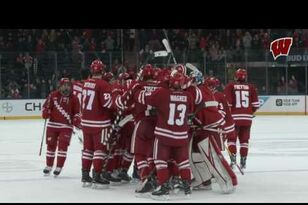WATCH: UW Hockey Highlights: Badgers sweep Ohio State